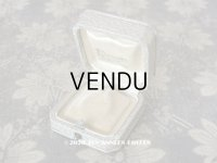 【10周年セール対象外】 アンティーク 金彩入り ペンダント用 ジュエリーボックス グレイ