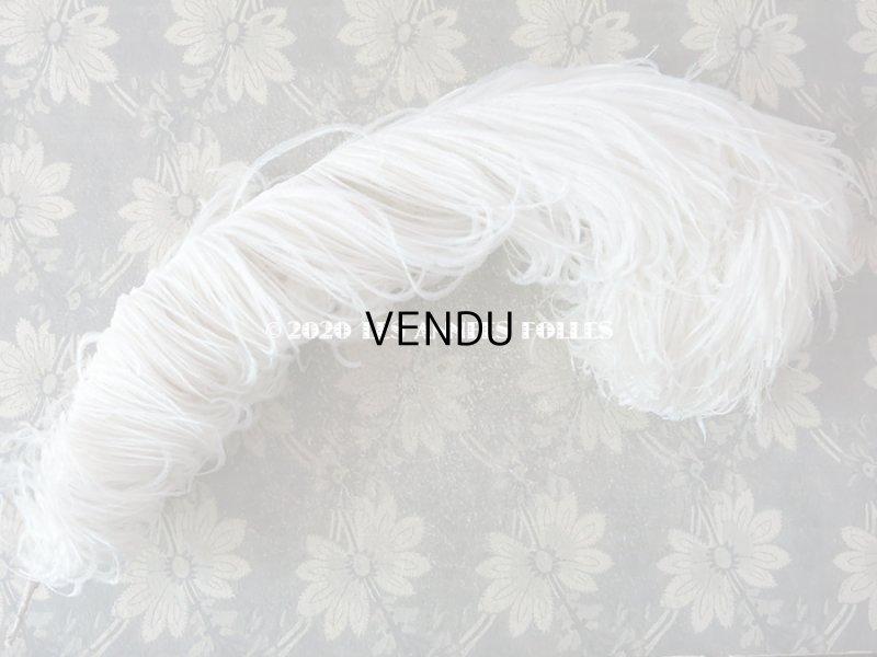 画像2: 【10周年セール対象外】 アンティーク フェザー オフホワイト 羽飾り