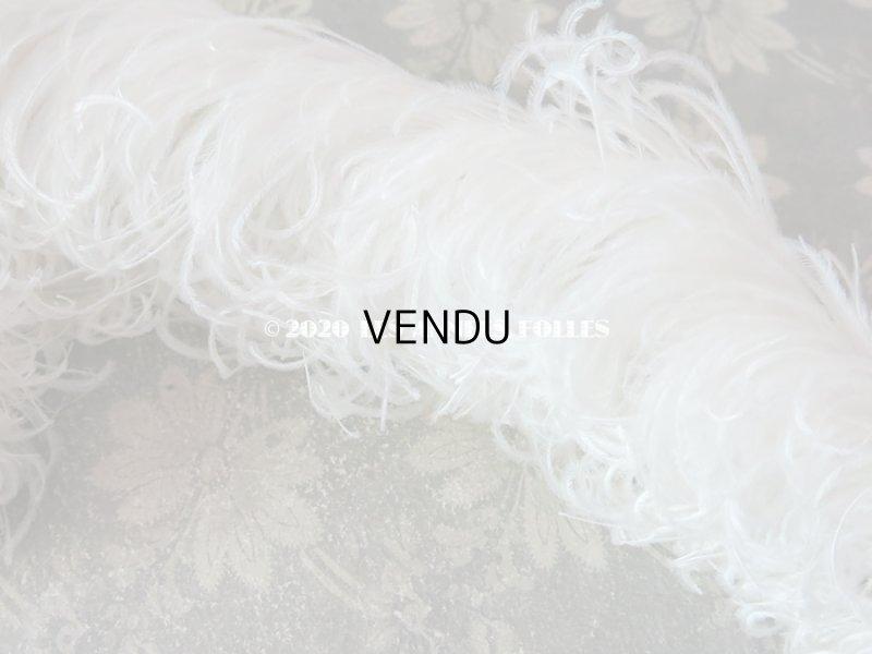 画像3: 【10周年セール対象外】 アンティーク フェザー オフホワイト 羽飾り