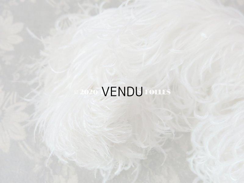 画像4: 【10周年セール対象外】 アンティーク フェザー オフホワイト 羽飾り