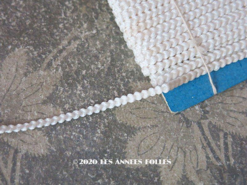 画像1: アンティーク オフホワイトのトリム 3mm幅