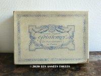 1900年代 アンティーク プランタン百貨店の紙箱  - GRANDS MAGASINS DU PRINTEMPS -