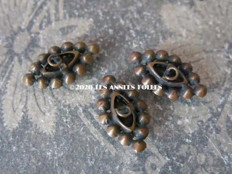 画像2: 19世紀 アンティーク サフィレットのボタン 3点セット