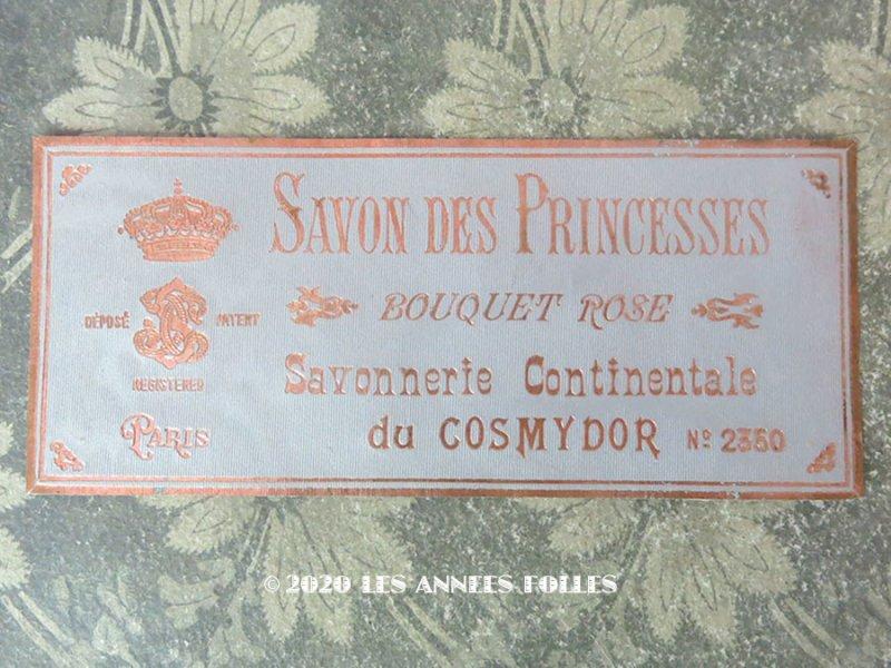 画像1: アンティーク 薔薇のソープラベル SAVON DES PRINCESSES BOUQUET ROSE - COSMYDOR PARIS -