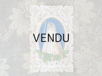 19世紀 アンティーク  初聖体のカニヴェ コミュ二オン レースの透かし柄