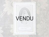 アンティーク  初聖体のカニヴェ ホーリーカード  レースの透かし模様 コミュニオン