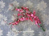 アンティーク  ピンクの布花