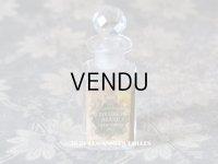 アンティーク 王冠のパフュームボトル ESSENCE BOUQUET BLANC - VIBERT FRERES PARIS  -