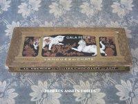 アンティーク ラングドシャのお菓子箱  LANGUES DE CHATS - GALA PETER -