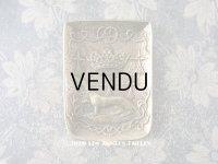 1900年代 アンティーク エルミン紋章のトレイ ブロンズ製 Max Le Verrier