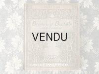 1920年代 アンティーク 刺繍とレースの本 BRODERIE & DENTELLE LECONS PRATIQUES 2e EDITION PAR COUSINE CLAIRE - FRANCOIS TEDESCO, EDITEUR PARIS-