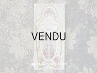アンティーク 菫のパフュームラベル 白いリボンと菫のガーランド EXTRAIT VIOLET REAL - HONORE PAYAN -