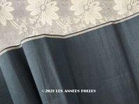 未使用 19世紀末 アンティーク シルク製 タフタ生地  ブルー・グリーン ファブリック 100×55cm