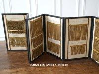 19世紀末 アンティーク メタル製フリンジのサンプラー プレザントワール