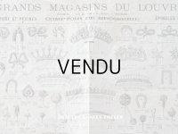 アンティーク ルーブル百貨店のカタログ エパングル&コーム - AU LOUVRE PARIS -