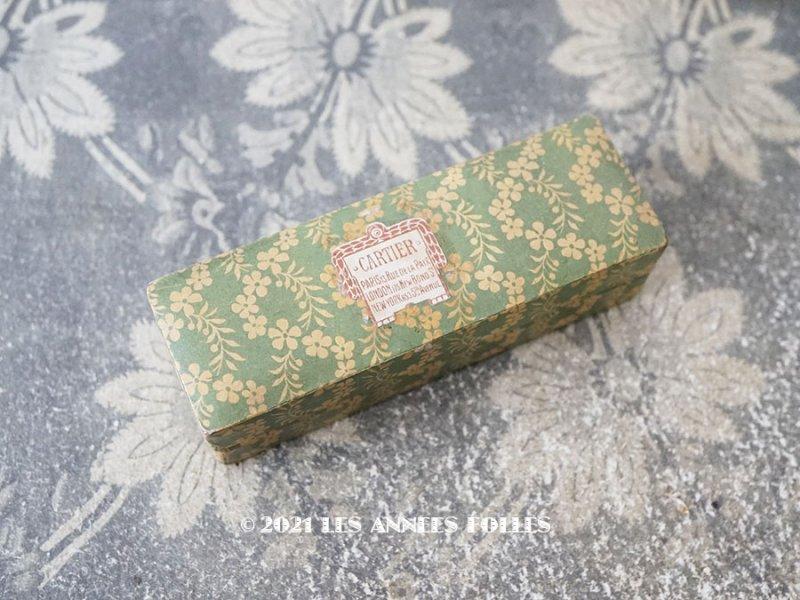 画像1: 【11周年セール対象外】 アンティーク  CARTIERのジュエリーボックス 花のガーランド