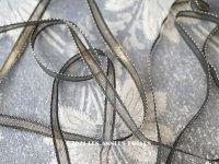 1900年代 アンティーク  ゴールドのメタル糸のリボン 極細 5.5mm幅