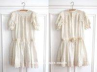 1900年代 アンティーク 少女のドレス