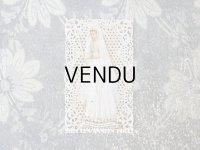 1900年代 アンティーク  初聖体の小さなカニヴェ プルミエール・コミュ二オン レースの透かし柄