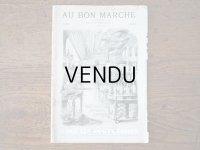 アンティーク ボンマルシェのカタログ パフュームリー ・ ファン (扇) PARFUMERIE BROSSERIE EVENTAILS - AU BON MARCHE -