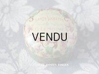 1900年代 アンティーク ワセリン缶 菫 VASELINE SANTA-VIOLETTA - G.LEMOINE PARIS -