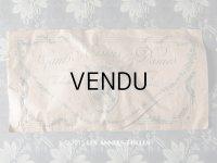 アンティーク ボンマルシェ グローブの紙袋 薔薇のガーランド GANTS DE TISSU POUR DAMES -AU BON MARCHE PARIS-