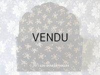 19世紀 アンティーク ナポレオン3世 パピエマシェ レターボックス 花模様