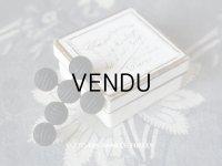 アンティーク ヴィクトリアン ジュエリー クロスのブローチ 箱付