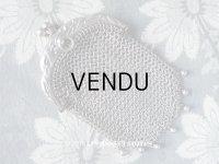 1900年代 アンティーク シルバー製 ヤドリギ メタルメッシュのコインケース