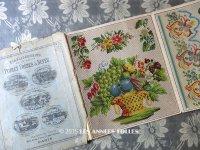 19世紀末 アンティーク クロスステッチの図案帳 - ETABLISSEMENTS DE LA MAISON POIRET FRERES & NEVEU -