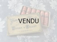 アンティーク 未使用 リップスティックの紙箱 ピンク POMMADE ROSE POUR LES LEVRES - ROGER&GALLET PARIS -